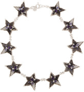 Twinkle silver-tone star necklace