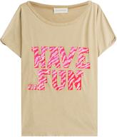 Faith Connexion T-shirt en coton impr