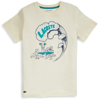 Lacoste Little Boy's & Boy's Summer Graphic T-Shirt