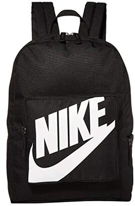 Nike Kids Classic Backpack (Little Kids/Big Kids) (Black/Black/White) Backpack Bags