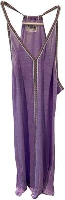 Pitusa Purple Cotton - elasthane Dress for Women