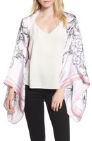 Ted Baker Women's Enchanted Dream Silk Cape Scarf