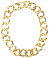House Of Harlow RA Engraved Chain Necklace