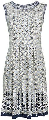 Max Studio Printed Fit--Flare Dress