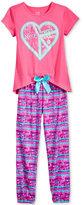 Max & Olivia 2-Pc. Sleep Friends Cupcakes Pajama Set, Big Girls (7-16)