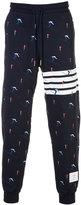 Thom Browne ski motif track pants