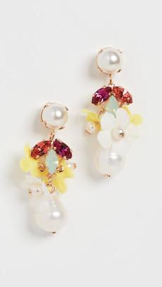 Anton Heunis Earrings with Tiny Pendants