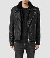 AllSaints Prospect Leather Biker Jacket
