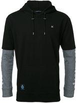 GUILD PRIME double sleeve hoodie - men - Cotton - 1