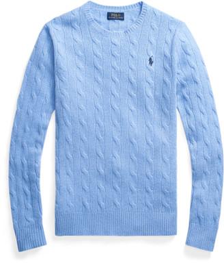 Ralph Lauren Cable-Knit Wool-Blend Jumper