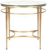 Safavieh Ingmar Round Side Table, Gold