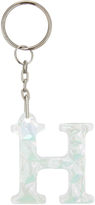 Accessorize Holographic Gem Initial Keyring H