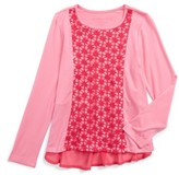 Design History Toddler Girl's Pleated Back Tee