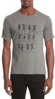 The Kooples Men's Dancing Skeleton Graphic T-Shirt