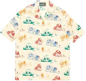 Gucci Disney x oversize bowling shirt