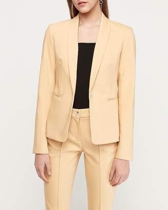 Express Shawl Collar One-Button Blazer