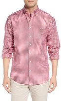 Vineyard Vines Men's 'Nottingham - Tucker' Classic Fit Gingham Check Sport Shirt