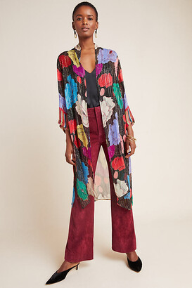 Bea Yuk Mui Shimmer Duster Kimono By Bl-nk in Assorted Size M/L