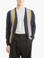 Lanvin Panelled Wool-blend Cardigan