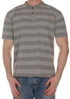 Soulcal Collar Henley Tshirt Mens