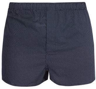 Derek Rose Modern Polka-dot Cotton Boxer Shorts - Mens - Navy