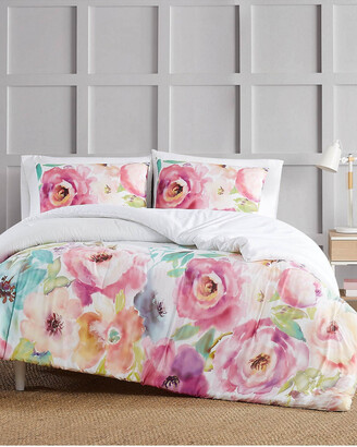 Christian Siriano Ny Spring Flowers 3Pc Comforter Set
