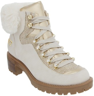 Juicy Couture Indulgence Faux Fur Hiker Bootie