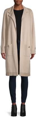 Tommy Hilfiger Open-Front Cotton-Blend Coat