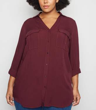 New Look Curves Utility Shirt