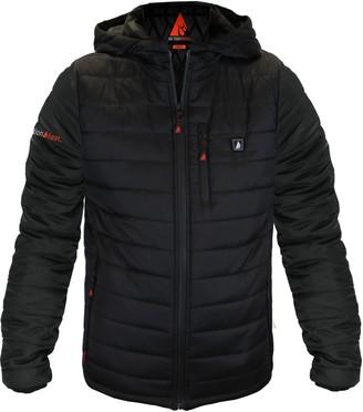 ActionHeat Men's 5V Battery-Heated Puffer Jacket W/ Hood