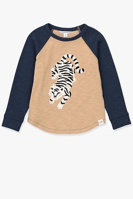 Country Road Tiger Raglan Long Sleeve T-Shirt