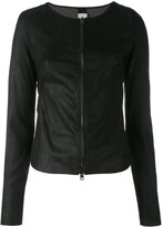 Isabel Benenato bomber jacket - women - Leather - 40