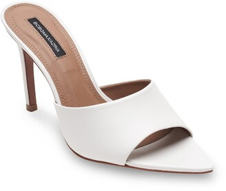 BCBGMAXAZRIA Dana Leather Slide Sandal