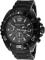 Michael Kors Men's Drake MK8211 Silicone Quartz Watch