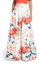 Eliza J Women's Faille Ball Skirt
