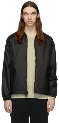 The Very Warm Black Harrington Bomber Jacket