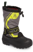 Kamik Boy's Snowcoast3 Waterproof Snow Boot