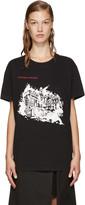 Off-White Black Burning Palace T-Shirt