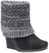 Muk Luks Women's Sienna Boot Wedge Bootie