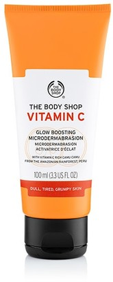 The Body Shop Vitamin C Glow Boosting Microdermabrasion Exfoliating Face Scrub