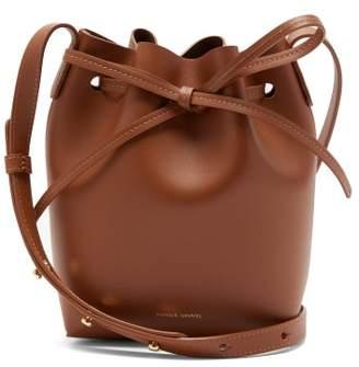 Mansur Gavriel Mini Mini Leather Bucket Bag - Womens - Tan