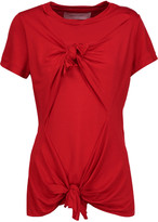Marques Almeida Marques' Almeida Knotted stretch-jersey T-Shirt