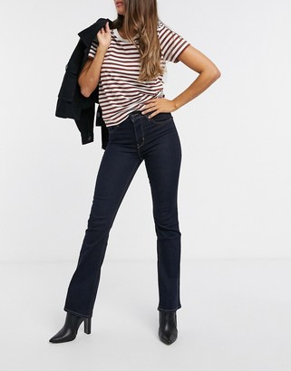 Levi's 725 high rise bootcut jeans in indigo