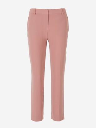 Diane von Furstenberg Tami Straight Cropped Pants
