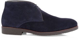 To Boot Burnett Cashmere Lined Suede Chukka Boots