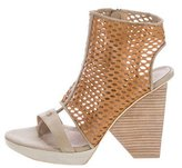 Ld Tuttle Leather Lasercut Sandals