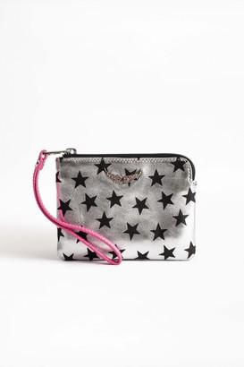 Zadig & Voltaire Mini Uma Stars Circus Wallet