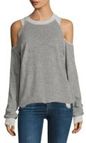 Feel The Piece Tyler Jacobs x Ambrose Cold-Shoulder Sweatshirt