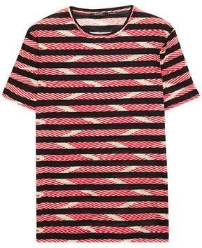 Proenza Schouler Striped Cotton-jacquard T-shirt