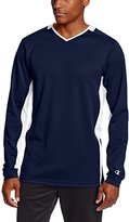 Champion Men's Double-Dry Long-Sleeve Shooter Warm-Up Shirt